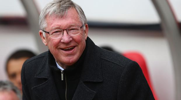 Sir Alex Ferguson of Manchester United