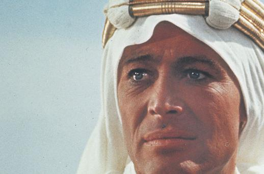 Rock the casbah: Peter O'Toole In Lawrence of Arabia