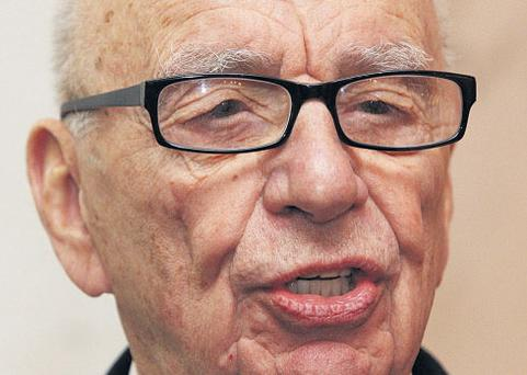 UNDER FIRE: But Murdoch says he is committed to the 'Sun'