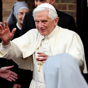 Pope Benedict XVI has said he is 'deeply shocked' by the