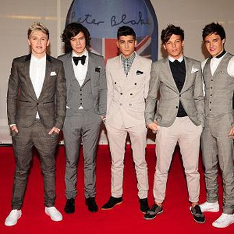 One Direction came third on The X Factor in 2010