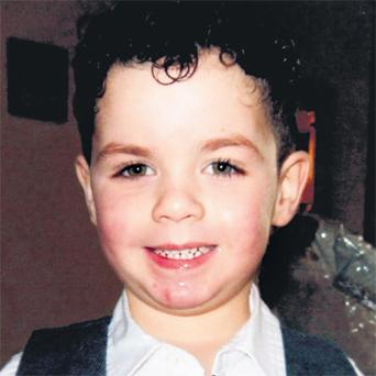 Logan Joyce (4), who tragically drowned at the National Aquatic Centre