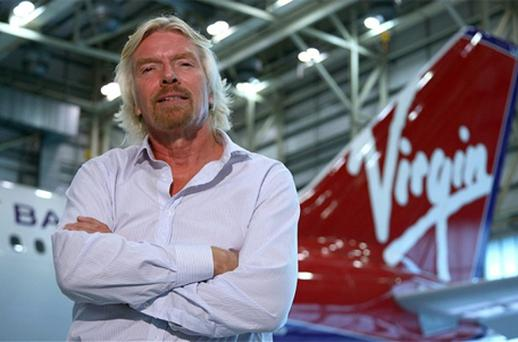 The airline, founded in 2000 by Sir Richard Branson, has increased its proportion of business travellers in the past two years from 10 per cent to 18 per cent