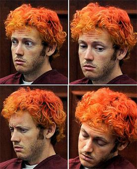 Holmes is accused of killing 12 and wounding 58 in a shooting rampage in a movie theater on Friday, July 20 in Aurora, Colo.