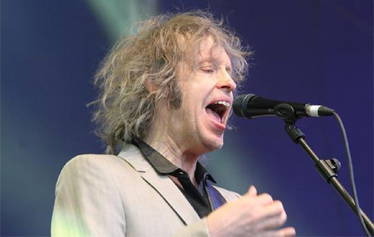 Mike Scott of The Waterboys.