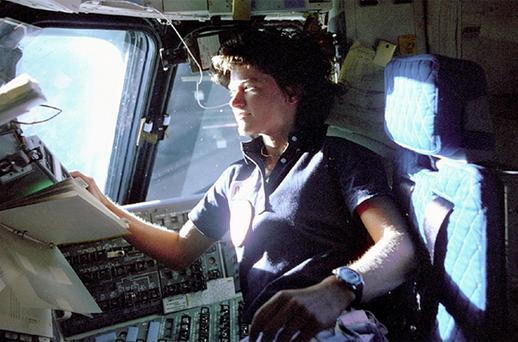 Sally Ride, the first American woman in space, died Monday