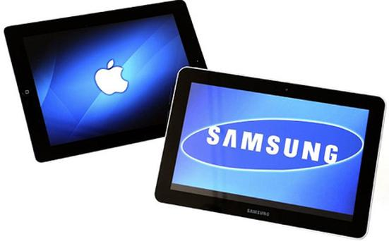 Apple and Samsung are vying for smartphone and tablet supremacy