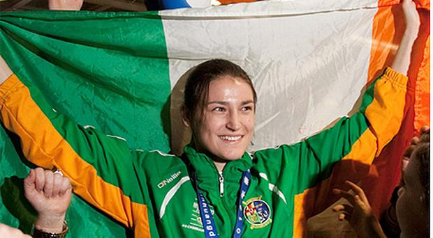 Katie Taylor will carry the Irish flag during the opening ceremony of the Olympic games in London