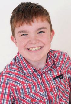 Ciaran Finn-Lynch (13), from Co Down, has grown almost four inches since his lifesaving operation.