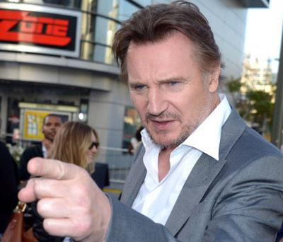 LOS ANGELES, CA - MAY 10: Actor Liam Neeson arrives at the premiere of Universal Pictures'