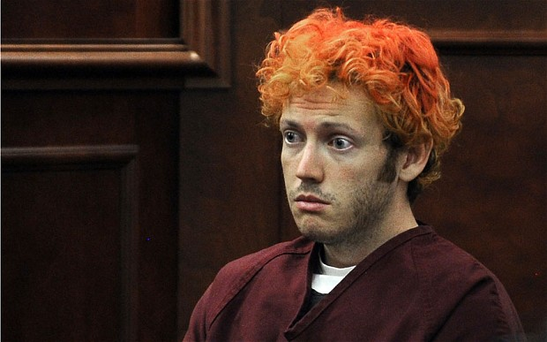 James Holmes appears in court at the Arapahoe County Justice Centre in Centennial, Colorado. Photo: Getty Images