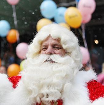 Harrods has opened its Christmas department to cater for foreign visitors