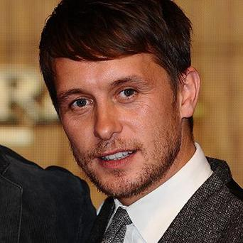 Mark Owen is proud dad to new daughter Fox