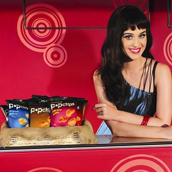 Katy Perry is such a fan of popchips she has invested in the brand