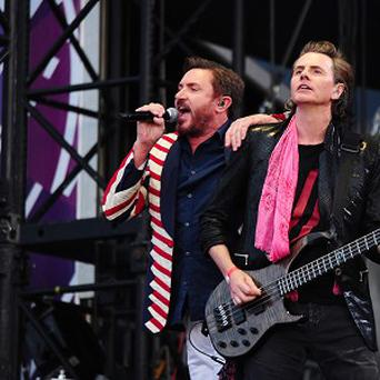 Duran Duran perform at the BT London Live concert