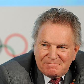 IOC member Denis Oswald has said athletes' pants will not be checked for illicit logos prior to games