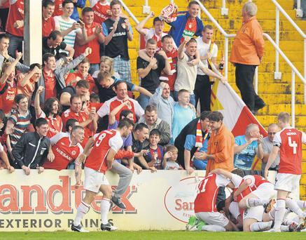 St Patrick's Athletic's victory in the Europa League showed the League of Ireland can still entertain.