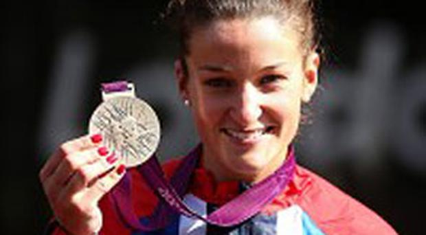Lizzie Armitstead claimed silver in the road race. Photo: PA