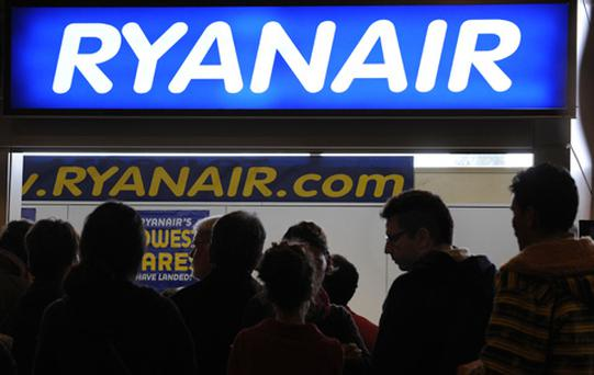 Ryanair is expecting traffic growth of 1pc between September and March, down from 7pc this summer following winter capacity cuts.