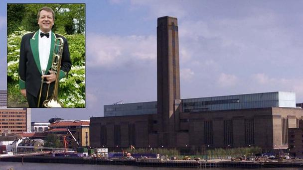 Michael Foreman fell from a fifth-floor balcony in the members' bar area of the Tate Modern. Photo: Reuters