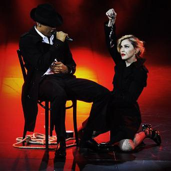The audience booed when Madonna left the stage after 45 minutes