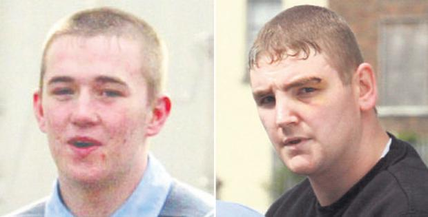 Left: Daniel Philips was shot in the head and spent a month in coma<br/> Right: Shane Mason was found guilty of attempted murder