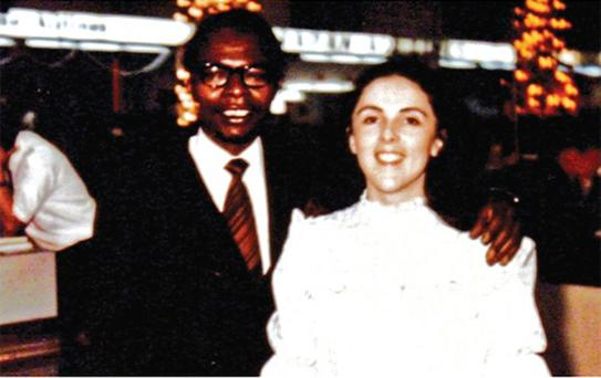 Barack Obama's father, also named Barack Obama, and mother, Stanley Ann Dunham. Photo: AP