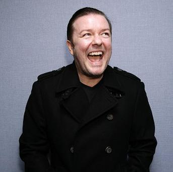 Ricky Gervais has spoken out against animal testing