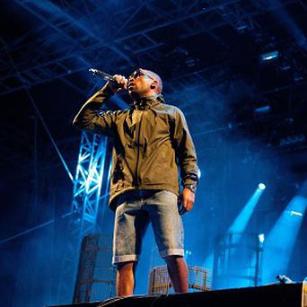 Tinie Tempah closed the first night of Global Gathering 2012