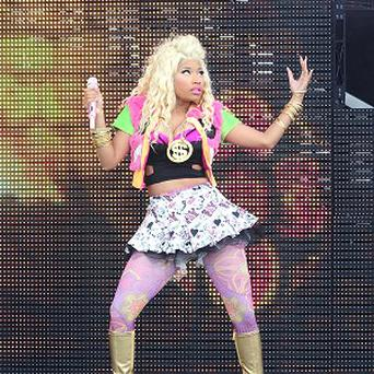 Nicki Minaj has requested a special trailer for her wigs at the V Festival