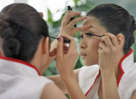 Sales of cosmetics grew by 18 per cent in China last year, amounting to €8bn. Photo: Reuters