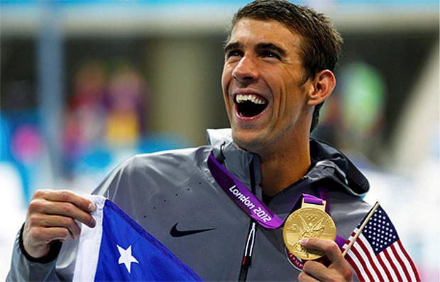 The greatest: Michael Phelps has now won 19 medals including 15 golds
