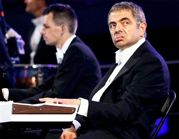 Mr Bean's cameo at the opening ceremony