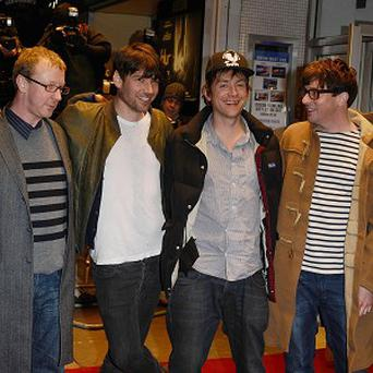 Blur have reunited for their first proper show for three years with a gig in front of just 200 people