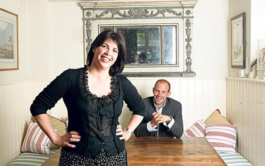 """Kirstie Allsopp finds ironing """"therapeutic"""", and regards washing and cleaning as """"a way of staying sane""""."""