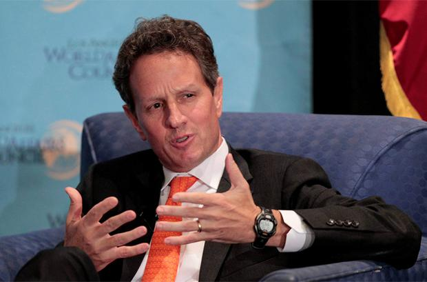 Timothy Geithner: wants EU action on interest rates