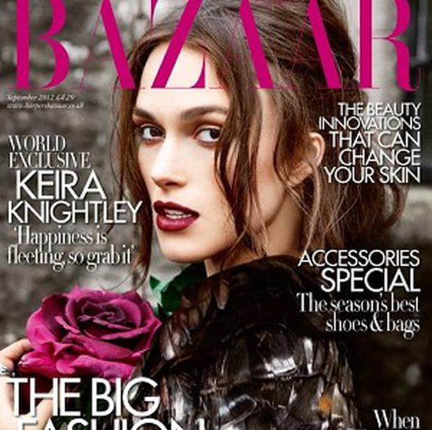 Keira Knightley likes a good girly chat