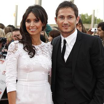 Christine Bleakley and fiance Frank Lampard - has hinted at doing something sporty on TV