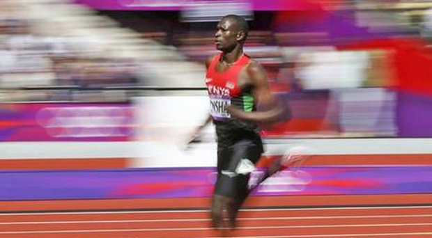 David Rudisha is only the latest in a long line of champions who have trained at Iten in the Rift Valley. Photo: Reuters