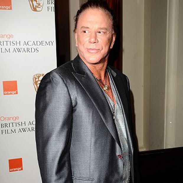Mickey Rourke is being linked to a role in Motor City