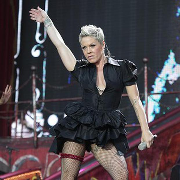 Pink revealed she's delighted to be the new face of Covergirl