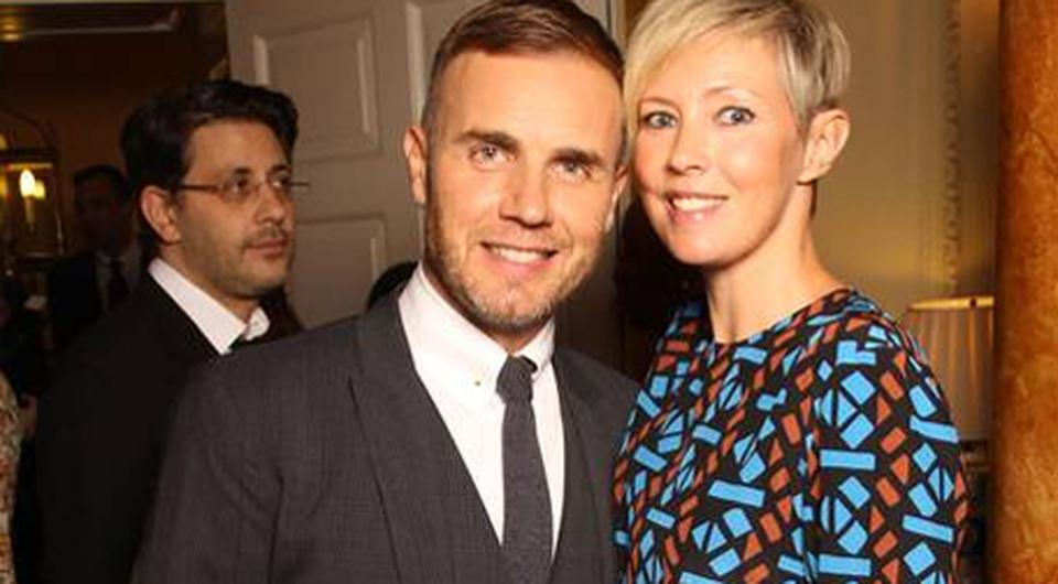 Pop star Gary Barlow and his wife Dawn. Photo: Getty Images