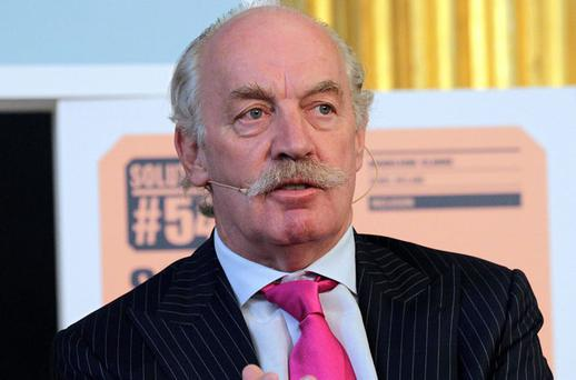Financier Dermot Desmond: shareholder in Castlebeck