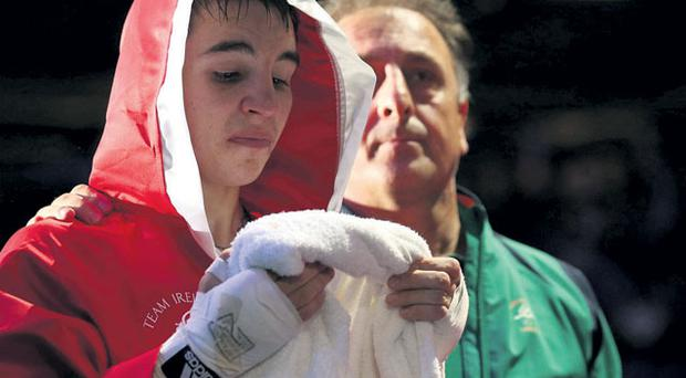 Michael Conlan after picking up bronze following his bout with Robeisy Ramirez Carranza