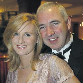 Sean Dunne with his wife Gayle Killilea