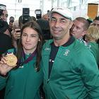 Katie Taylor with father Peter