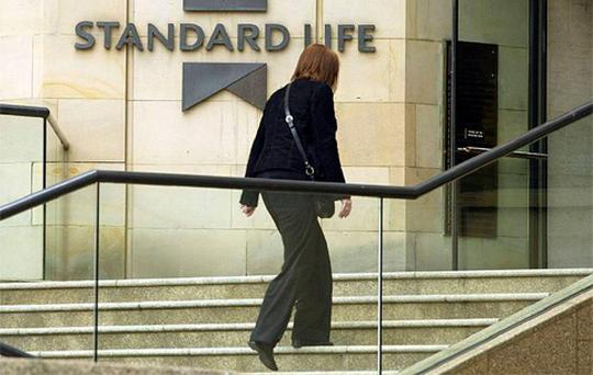 Half of those surveyed by Research Plus for Standard Life found that just 41pc of people own a private, company or work scheme pension