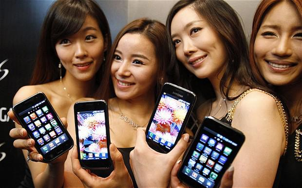 Samsung was accused of ripping off Apple for its Galaxy range Photo: Reuters