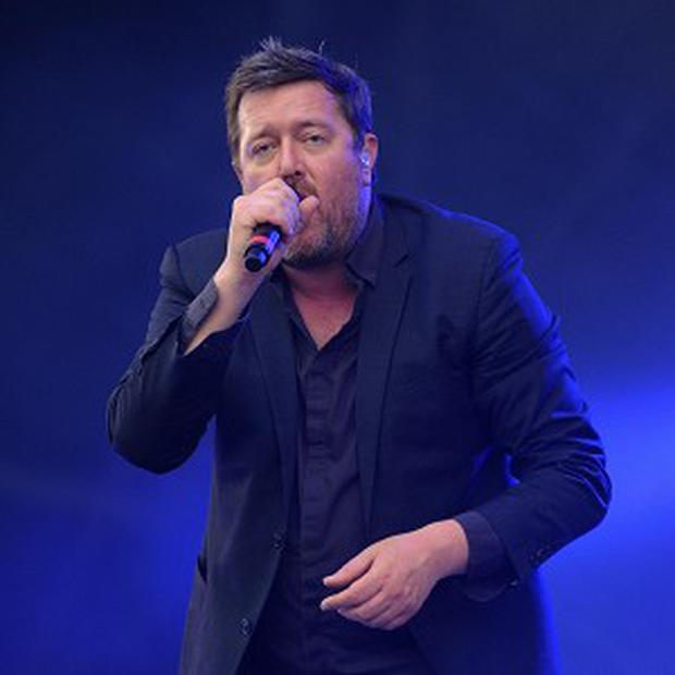 Elbow are enjoying a record sales boost after their Olympic star turn