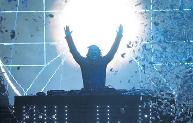 22,000 fans are expected at Marlay Park next Friday to see French DJ David Guetta, above